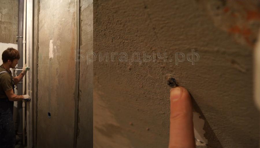 Штукатурка раствором по маякам своими руками 25