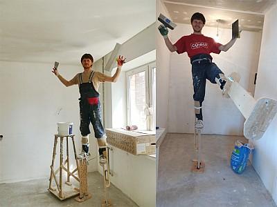 Ходули для потолочных работ