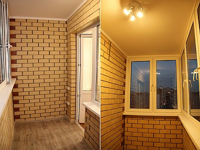 Добротный балкон